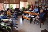DEMİRYOLLARI - Başkan Yaman, TCDD Yetkilileri İle Bir Araya Geldi