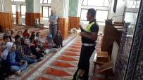 Daday'da Yaz Kur'an Kursu Öğrencilerine Trafik Eğitimi Verildi