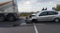 ANTAKYA - Hatay'da Zincirleme Kazada 9 Araç Birbirine Girdi