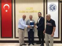 KADİR ÇELİK - İHA - Türkiye Gazetesi'nden Eğirdir Belediyesi Ve ITSO Ziyareti