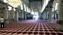 HAREM-İ ŞERİF - İsrail Aksa'daki Kubbetu's Sahra İle Kıble Mescidi'ni Kuşattı