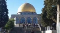 HAREM-İ ŞERİF - İsrail Polisinin Mescid-İ Aksa'nın Kapılarını Yeniden Açması