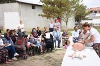 KOZYÖRÜK - Kadınlara İlk Yardım Eğitimi Devam Ediyor