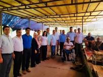 MAHMUT YıLDıZ - Mardin'de Doktordan Hastalarına Piknik