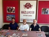ULUS DEVLET - MAZLUMDER Kayseri Şube Başkanı Taş Açıklaması 'Ulus Devlet İlanı İsrail'in Ayıbıdır'