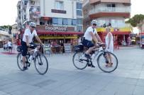 MOTORİZE EKİP - Plajlardaki Güvenlik 'Bisikletli Polislere' Emanet