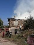 MUSTAFA ZENGİN - Safranbolu'da Korkutan Ev Yangını