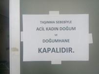 SEYRANTEPE - Şişli Hamidiye Etfal Eğitim Ve Araştırma Hastanesinin Bazı Bölümlerinde Hasta Alımları Durduruldu