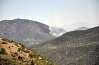 Tunceli'de Otluk Alanda Başlayan Yangın Ormana Sıçradı