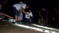 DENİZ KAPLUMBAĞALARI - Yavru Deniz Kaplumbağaları Denizle Buluştu