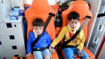 Aksaray'da Minibüs Şarampole Devrildi Açıklaması 10 Yaralı