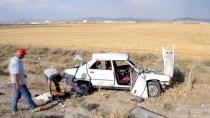 Aksaray'da Otomobil Şarampole Devrildi Açıklaması 7 Yaralı