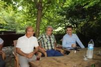 DEVLET MEMURLARı - Akyazı'da Tayini Çıkan Hakim Ve Savcılar İçin Veda Yemeği