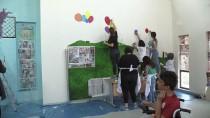 ABANT İZZET BAYSAL ÜNIVERSITESI - Engelli Yaşam Merkezinin Duvarlarını Resimle Güzelleştiriyorlar