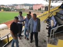 MEHMET YAPıCı - Fatsa İlçe Stadındaki Çalışmalarda Sona Geldi