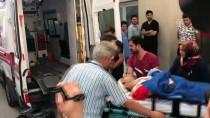 GÜNCELLEME - Çankırı'da Hafif Ticari Araç Polislere Çarptı