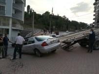 FARABI - Kocaeli'de Virajı Alamayan Otomobil Takla Attı Açıklaması 1 Yaralı