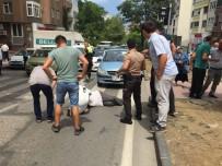 UNKAPANı - Samsun'da Trafik Kazası Açıklaması 1 Yaralı