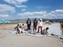KAYAK MERKEZİ - Sarıkamış Belediyesi Oteller Bölgesinin Çevre Düzenlemesini Yapıyor