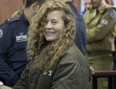 Ahed Tamimi 8 ay sonra serbest kaldı