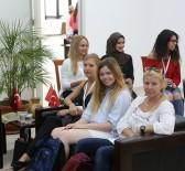 YABANCI ÖĞRENCİ - Başkan Yılmaz, Yabancı Öğrencileri Makamında Kabul Etti