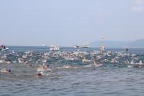 18 MART ÜNIVERSITESI - Çanakkale'de Troya Açık Su Yüzme Yarışı Gerçekleşti