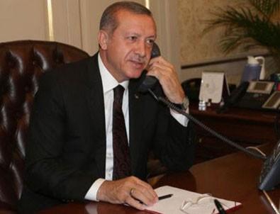 Cumhurbaşkanı Erdoğan Ahed Tamimi'yle görüştü