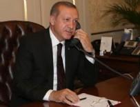 AHED TAMİMİ - Cumhurbaşkanı Erdoğan Ahed Tamimi'yle görüştü