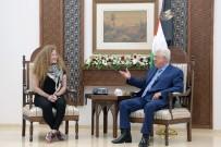 AHED TAMİMİ - Filistinli Cesur Kız Tamimi, Mahmud Abbas İle Görüştü