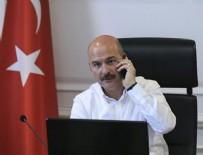 GIRESUN ÜNIVERSITESI - İçişleri Bakanı Soylu'dan Yusuf Topal'ın ailesine başsağlığı telefonu