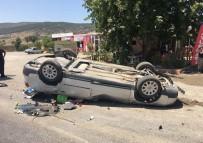 AKÇALı - Kahramanmaraş'ta Trafik Kazası Açıklaması 1 Ölü, 2 Yaralı