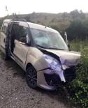 Kastamonu'da İki Otomobil Çarpıştı Açıklaması 8 Yaralı