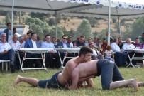 EMRULLAH İŞLER - Kızılcahamam'da Güreş Festivali Yoğun İlgi Gördü