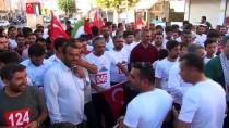 VİRANŞEHİR - Şanlıurfa'da Gençler Filistin İçin Koştu