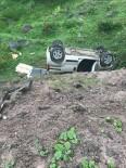 Türbe Ziyaretine Giderken Şarampole Uçtular Açıklaması 1 Ölü, 4 Yaralı
