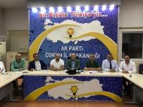 24 Haziran Seçimlerini Değerlendiren AK Parti İl Başkanı Karadağ;