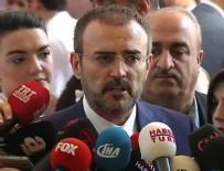 MAHİR ÜNAL - AK Parti'den erken seçim açıklaması