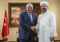İSMAİL RÜŞTÜ CİRİT - Başbakan Yıldırım'dan Diyanet İşleri Başkanlığına Veda Ziyareti