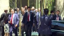 İSMAIL KAHRAMAN - Başbakan Yıldırım'dan Kahraman'a Veda Ziyareti
