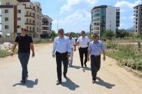 YıLDıZTEPE - Başkan Alıcık, Nazilli'deki Projeleri İnceledi