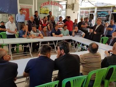 Başkan Arslan, Tol Çarşı Esnafıyla Bir Araya Geldi