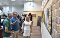 RESIM SERGISI - Başkan Uysal Resim Sergisini Açtı