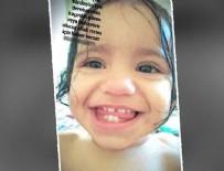 Bir kayıp bebek haberi de İzmir'den... Rüya ile anneannesi her yerde aranıyor