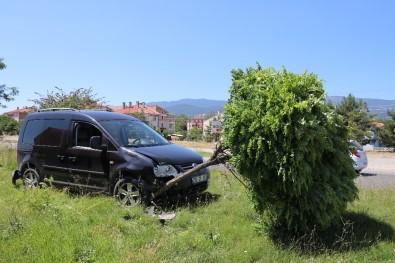 Bolu'da Trafik Kazası Açıklaması 3 Yaralı