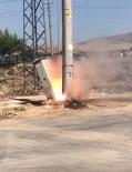 ELEKTRİK TRAFOSU - Elektrik Trafosu Ateş Saçtı