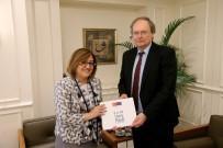 TÜRKIYE BELEDIYELER BIRLIĞI - Fatma Şahin, AB Türkiye Delegasyon Başkanı Büyükelçi Berger'i Ağırladı