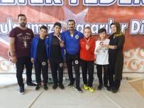 KAZANCı - Halterciler Madalya İle Döndüler