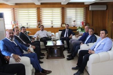 Kick Boks Federasyonu Başkanı Kayıcı'dan  Rektör Demirdağ'a Ziyaret