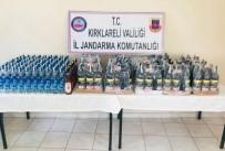 Kırklareli'nde Sahte Alkol Ele Geçirildi