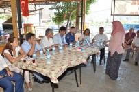 ALI ÇETIN - Kozbeyli'deki Halk Toplantısına Yoğun İlgi